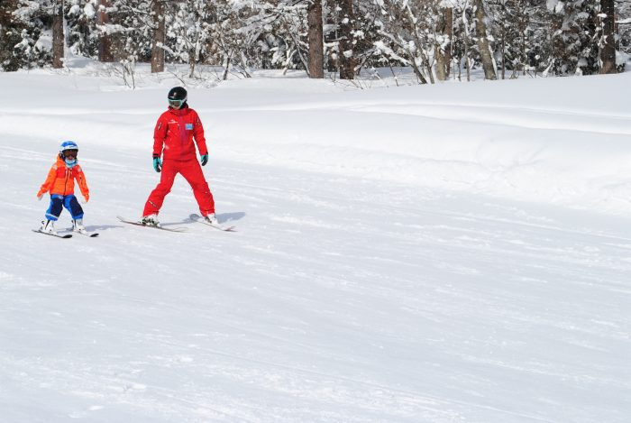 ski learning myoko