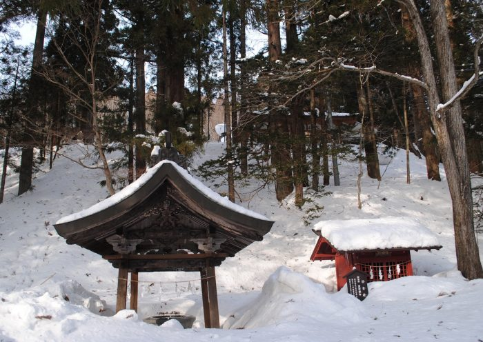 water well temple japan
