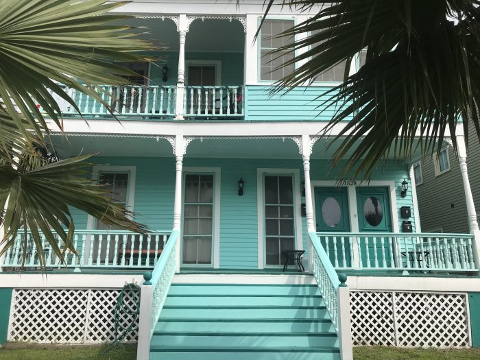 Blue House Galveston