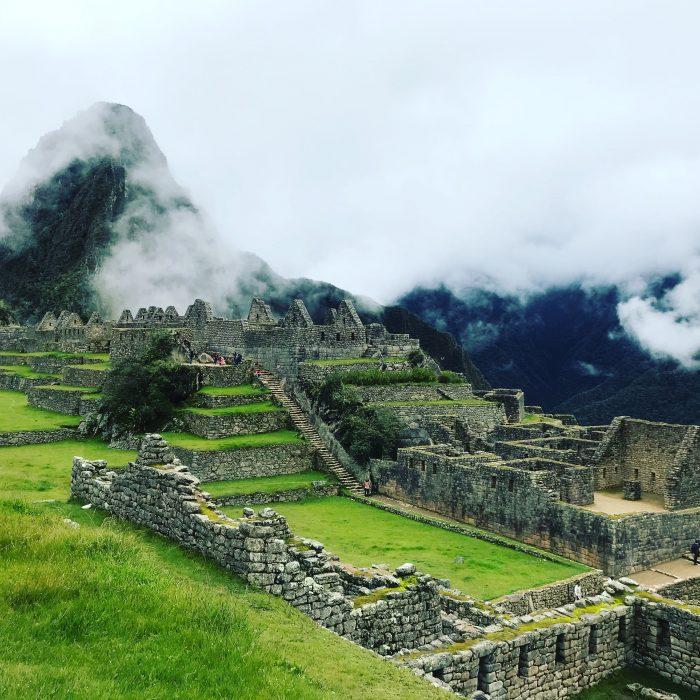 View at Machu Picchu Peru