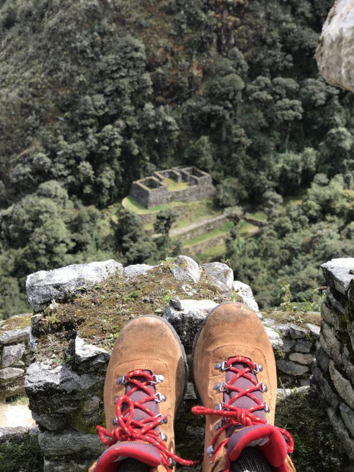 Hike to Machu Picchu Peru