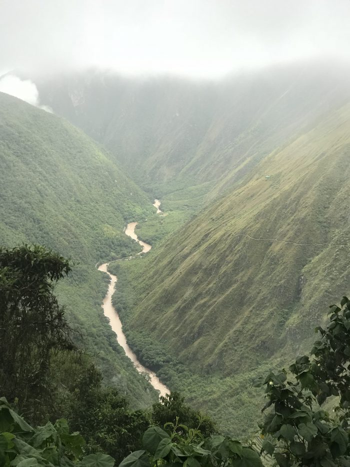 View of valley in Peru