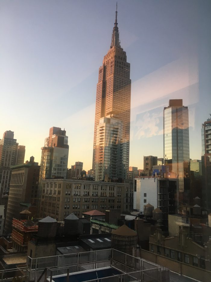 Mondial Hotel view