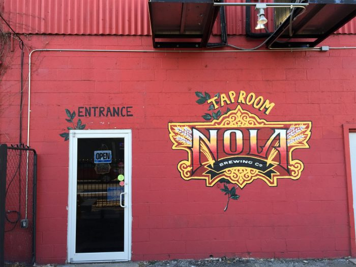 nola brewery-entrance