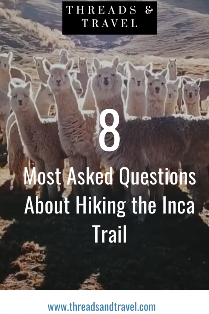 Inca Trail: the most asked questions