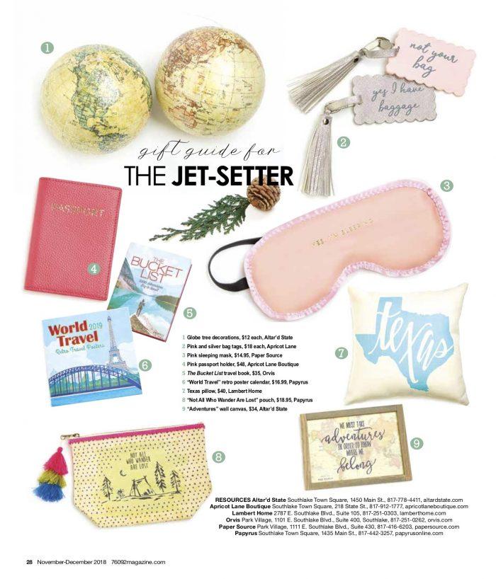 Traveller Gift Guide