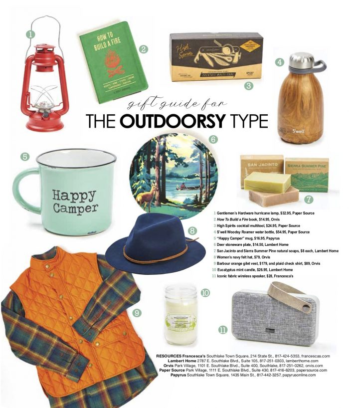 Holiday Gift guide for The outdoorsy Type
