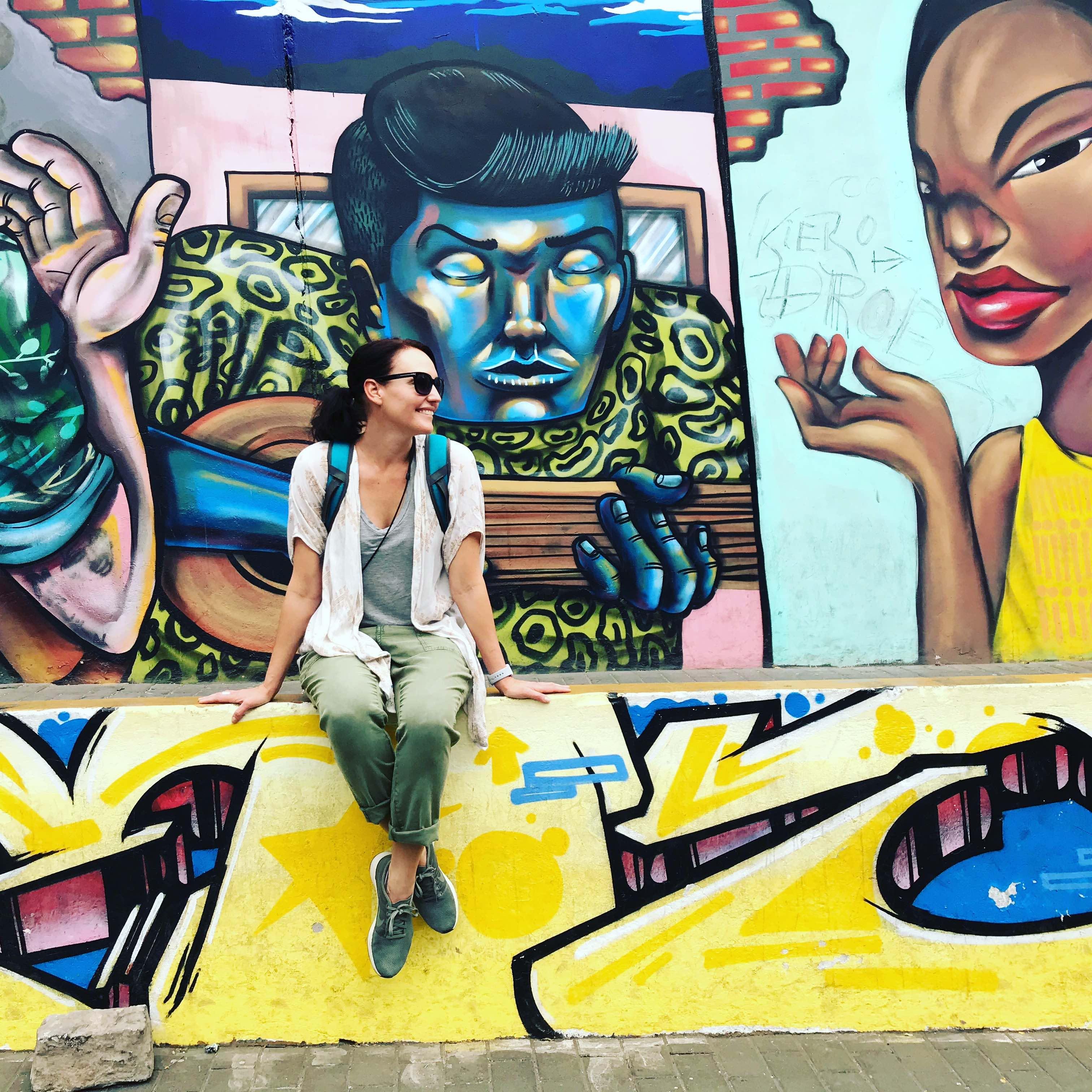Lima Street art and me