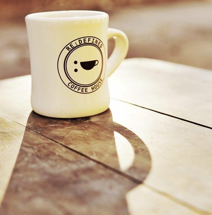 redefined coffee mug