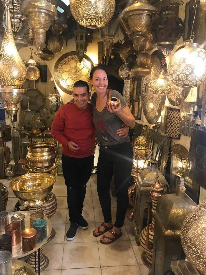 Marrakesh shopping