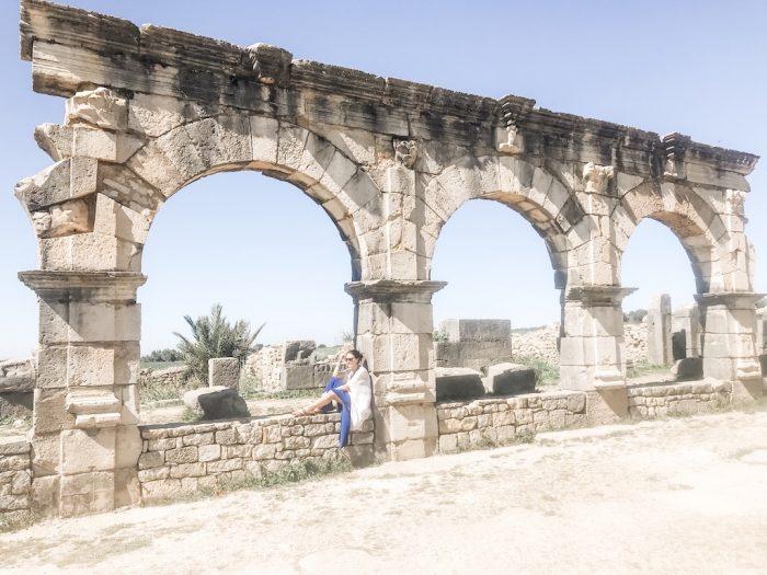 Volubis ancient roman city